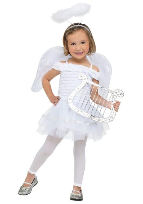 Костюм ангела для девочки на Хэллоуин