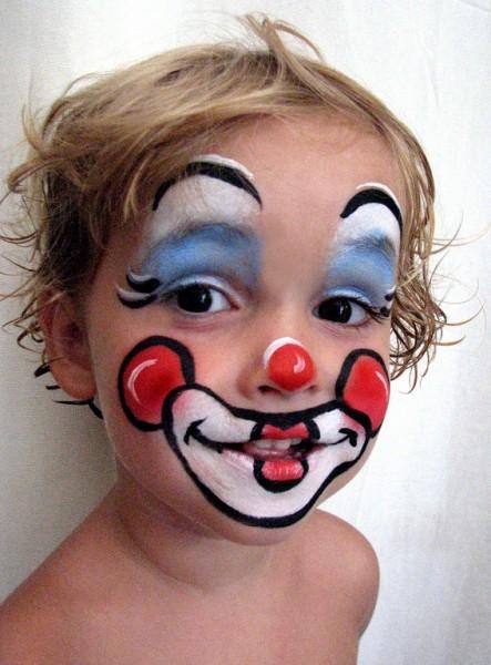 Грим для мальчика на Хэллоуин