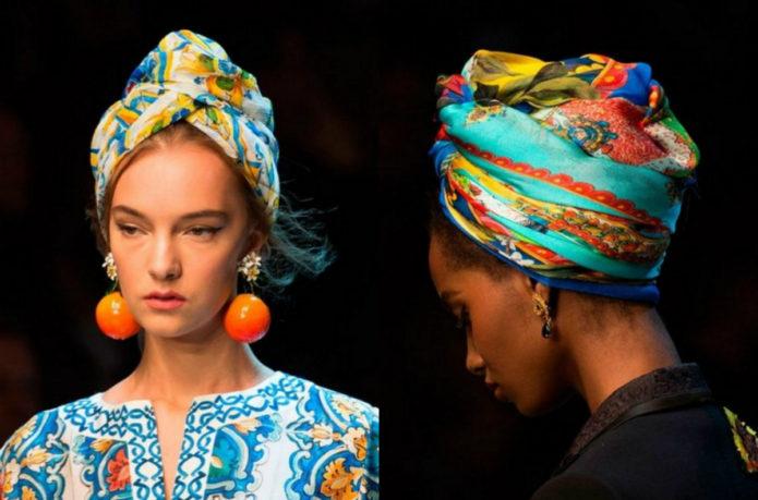 Как красиво повязать платок на голову в африканском стиле