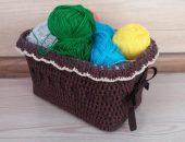 Фотопост: 35 идей для вязания коробочек и корзин крючком