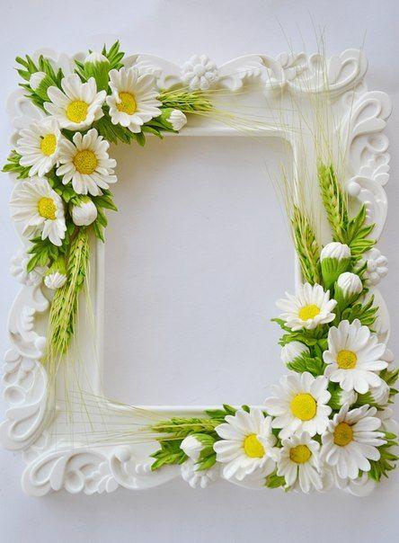 Романтичная рамка для фото своими руками
