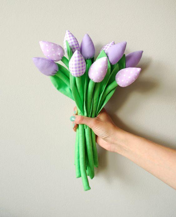 Цветы из ткани, созданные своими руками