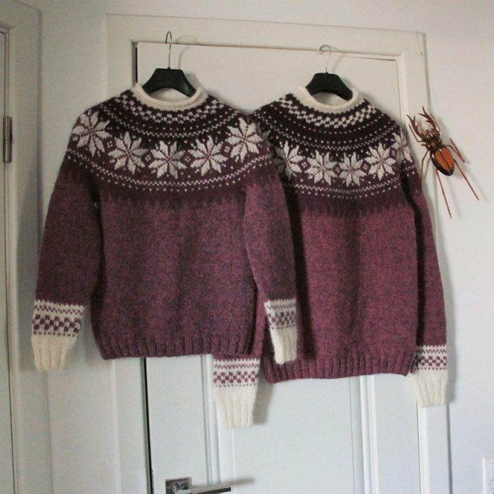 Исландский свитер «лопапейса»