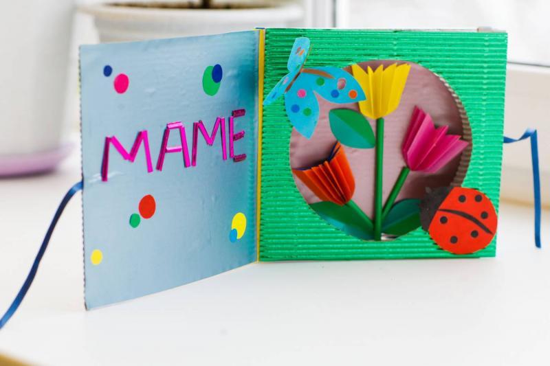 20 идей открыток ко Дню матери, которые можно сделать своими руками