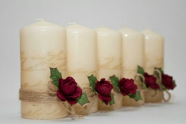 Свечи для романтического свидания