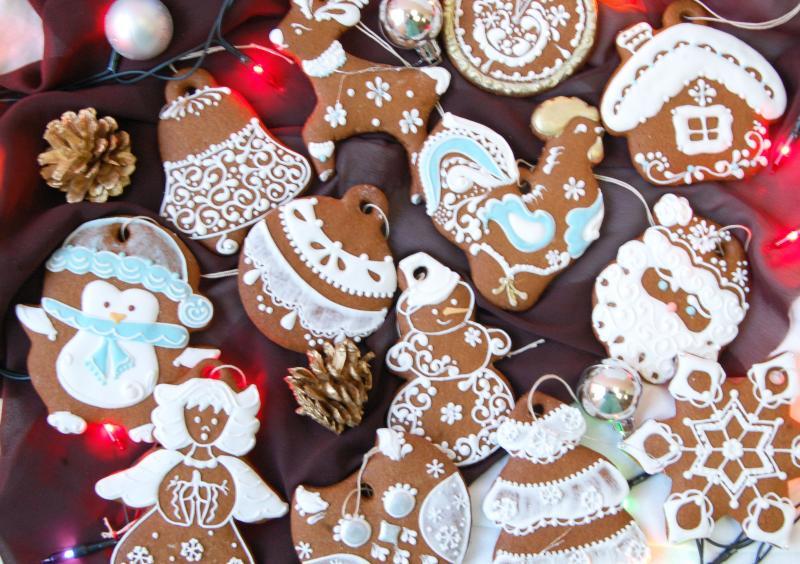 30 необычных идей оформления имбирного печенья глазурью к Новому году