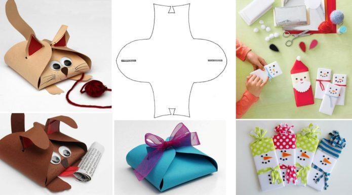 Оригинальные упаковки для детских новогодних подарков