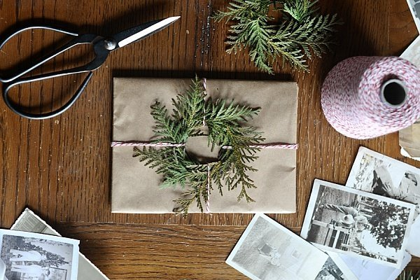 Идея упаковки новогоднего подарка своими руками