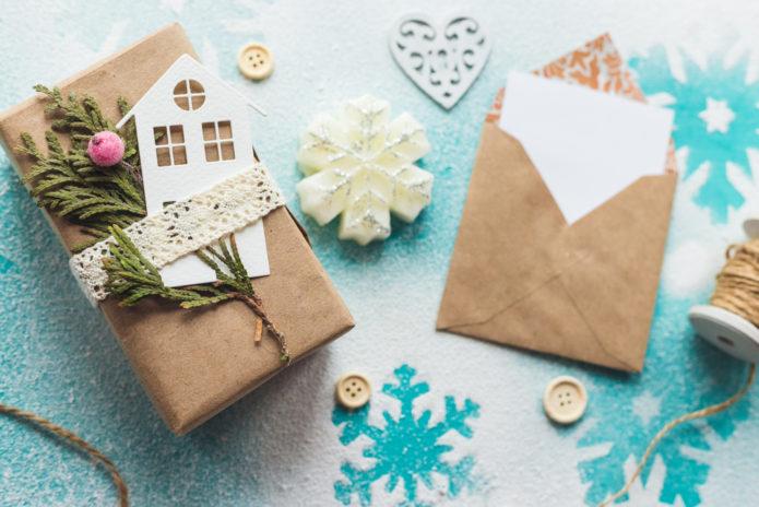 Варианты упаковок для новогодних подарков