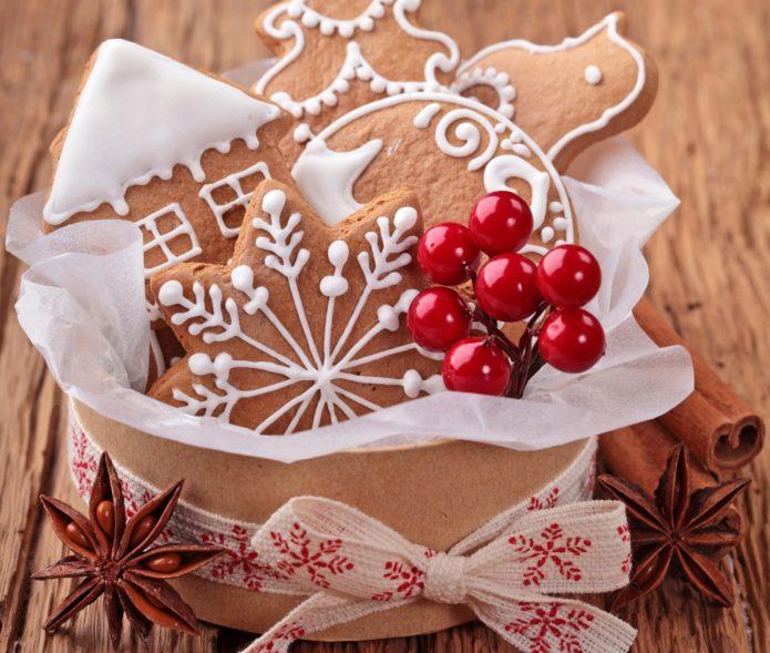 Имбирные печенья в подарок