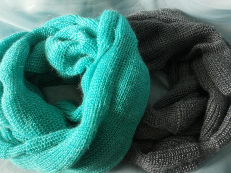 Подборка модных вязаных шарфов 2018-2019