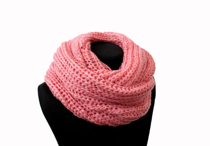 Разовый шарф-хомут