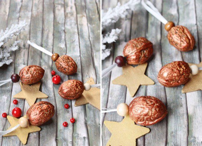 Орехи для новогодней ёлки