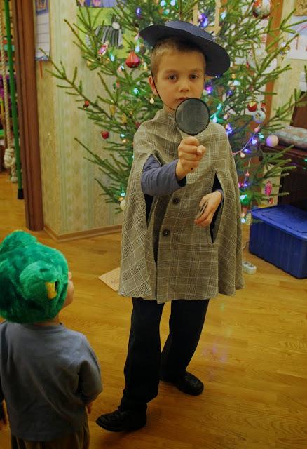 Костюм сыщика на Новый год для мальчика