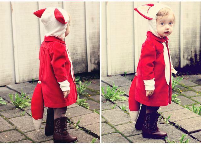 Идея костюма лисички для девочки