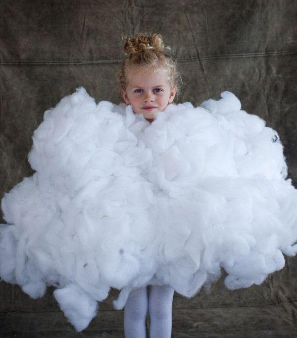 Костюм-облако для девочки