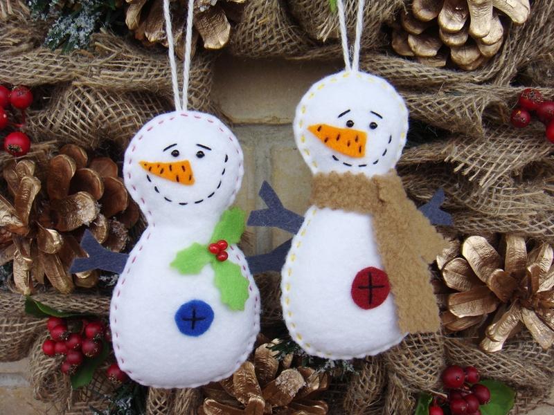 Создаём снеговиков и новогоднее настроение своими руками: 30 идей на фото
