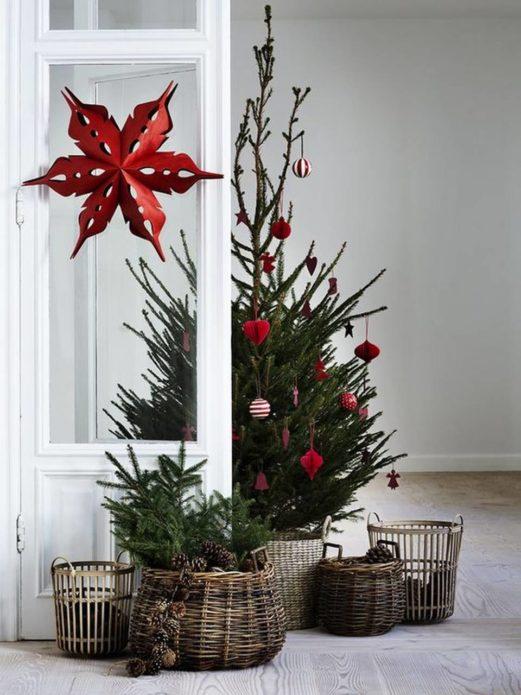 Скандинавская новогодняя ёлка