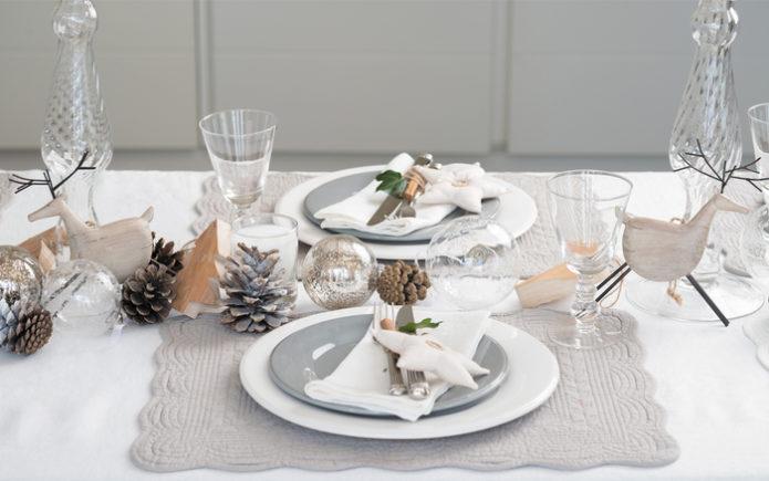 Скандинавский новогодний стол