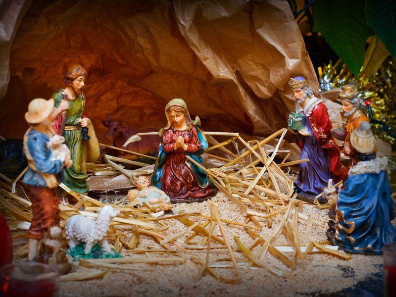 Рождественский вертеп своими руками: из чего и как сделать