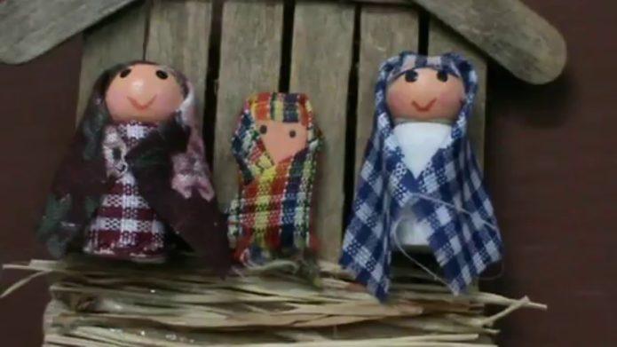 Фигурки для рождественского вертепа