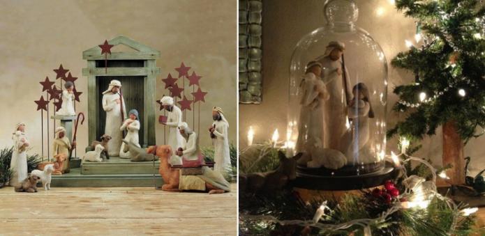 Рождественские композиции-вертепы