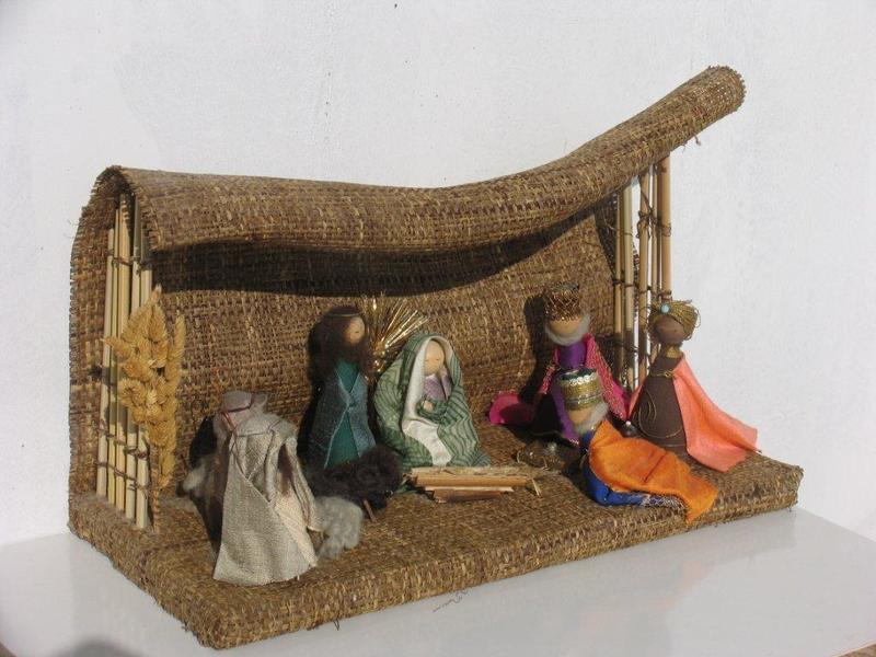 Делаем рождественский вертеп своими руками: подборка фотоидей