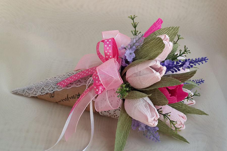 Дизайн и оформление букетов цветов своими руками, букет