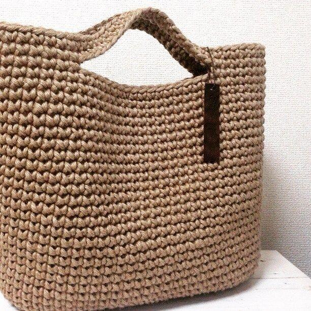 Джутовая сумка