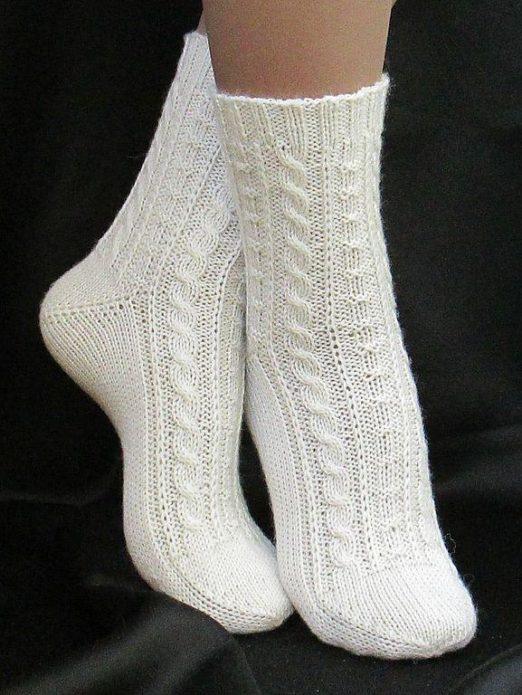 Носки с аранами