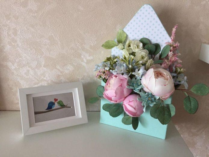 Букет цветов из фоамирана своими руками
