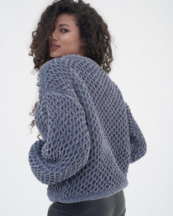 Плюшевый пуловер