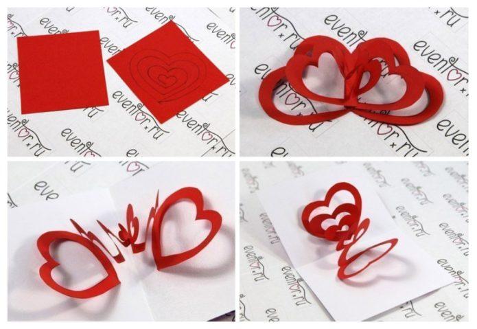 Красивая валентинка «без лишних слов»