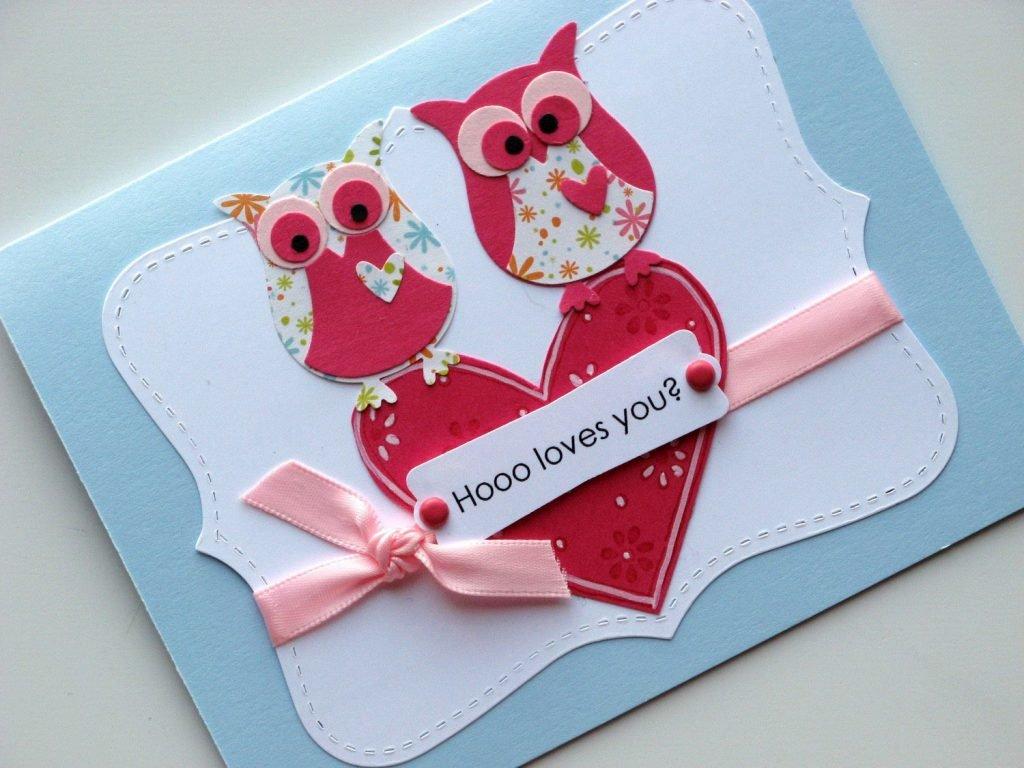 Открытки своими руками на валентина, куклами лол открытки