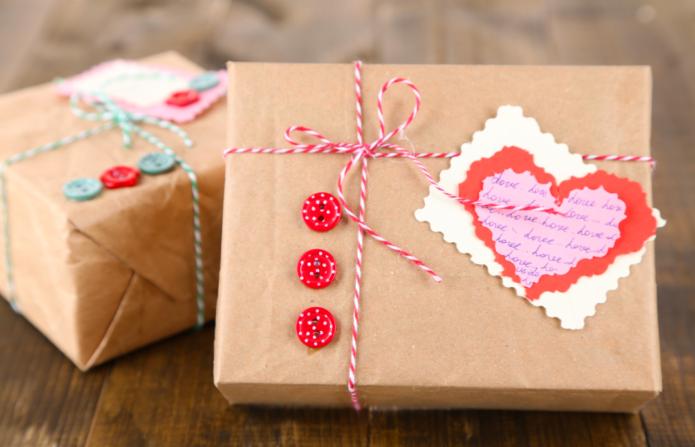 Подарочная коробка на 14 февраля