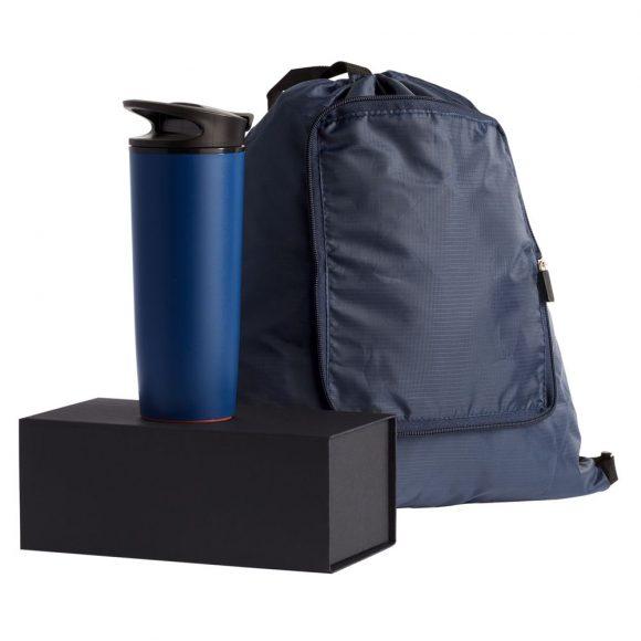 Походный набор со складным рюкзаком и термокружкой