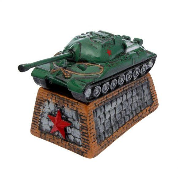 Копилка в виде танка