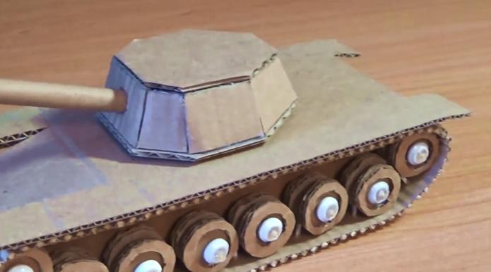 Формирование башни танка
