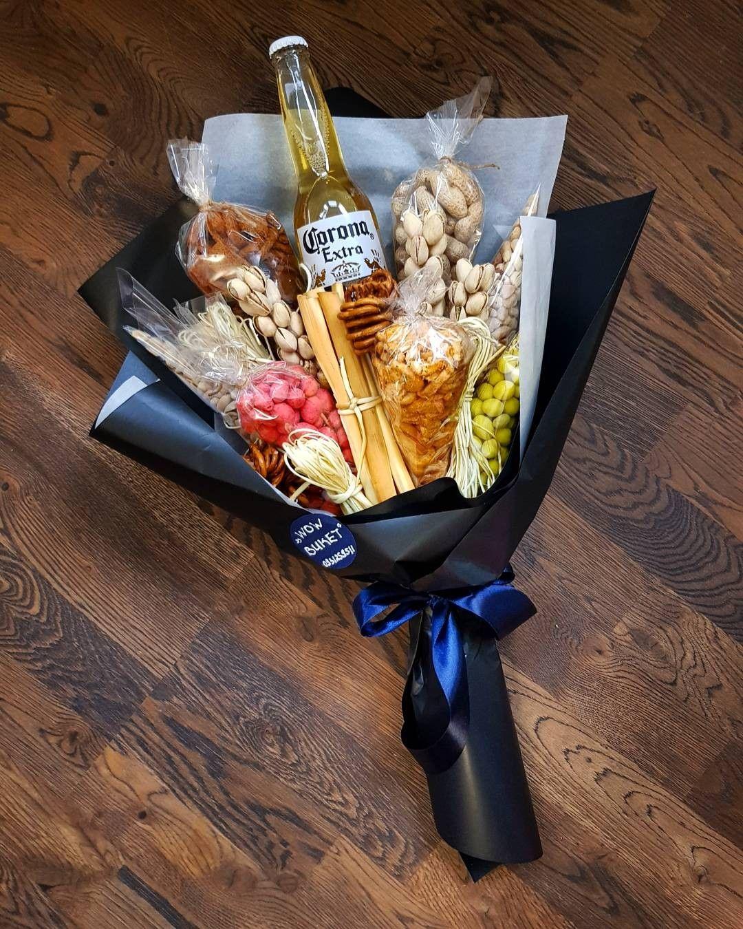 Необычный букет мужчине своими руками, букет невесты розы