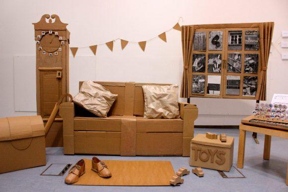 Мебель из плотного картона