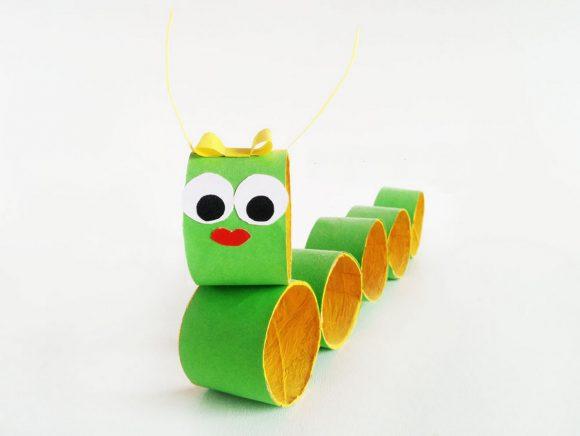 Гусеница из втулки