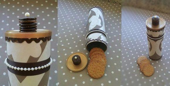 Упаковка для печенья из банки Pringles