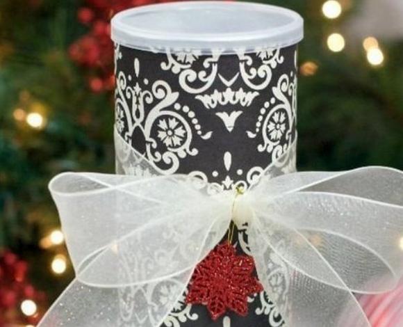 Упаковка для подарка из банки Pringles