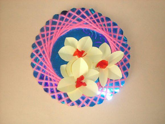 Настенное панно с цветами