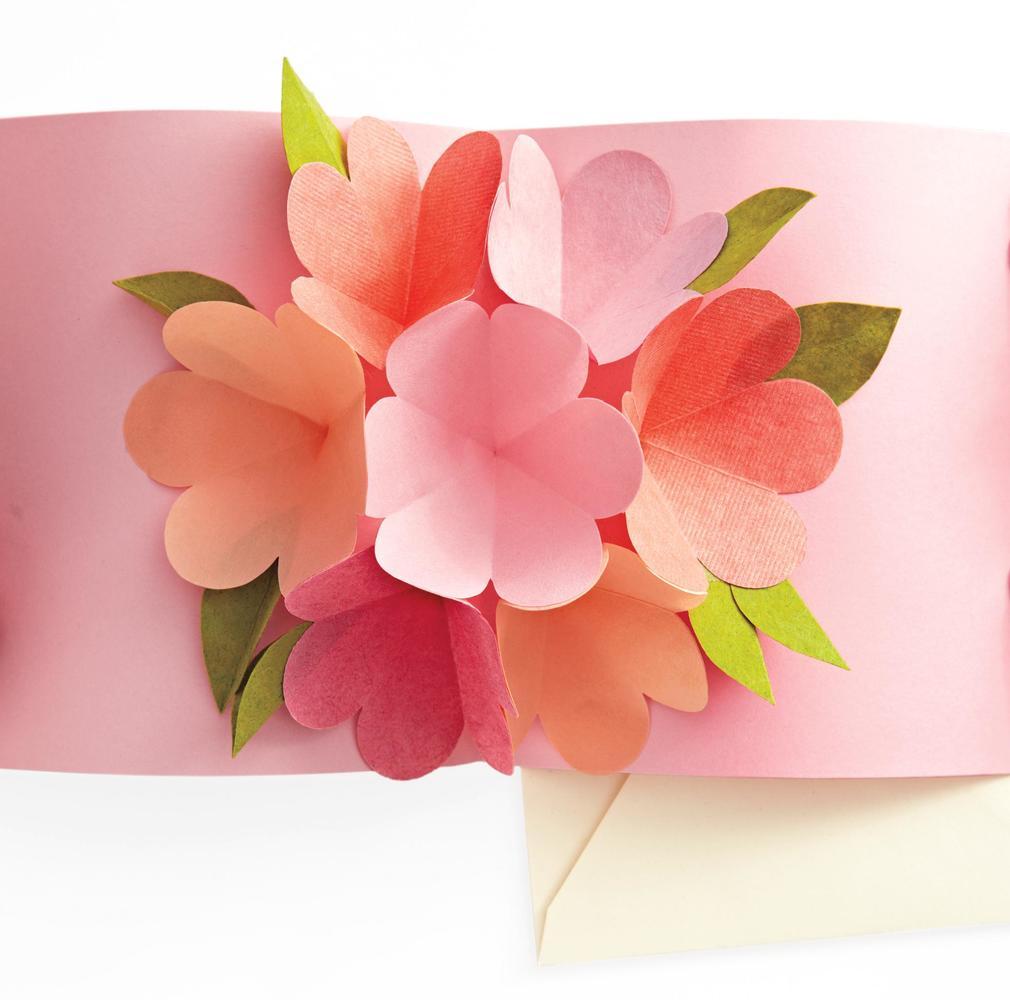 Красивые открытки своими руками маме на 8 марта