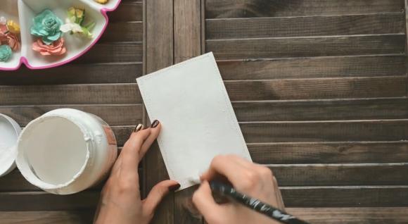 Грунтовка бумаги