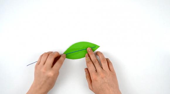 Соединение листа с проволокой