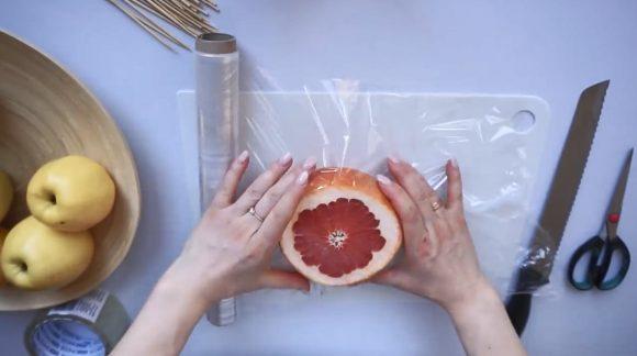 Грейпфрут в пленке