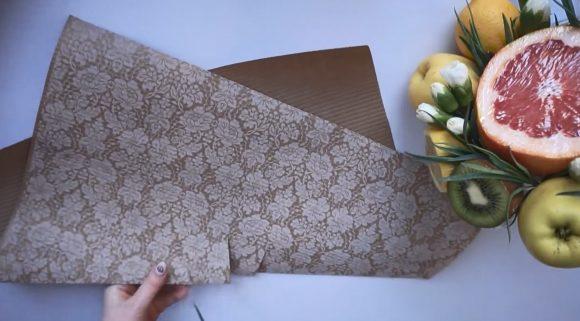 Бумага для упаковки букета