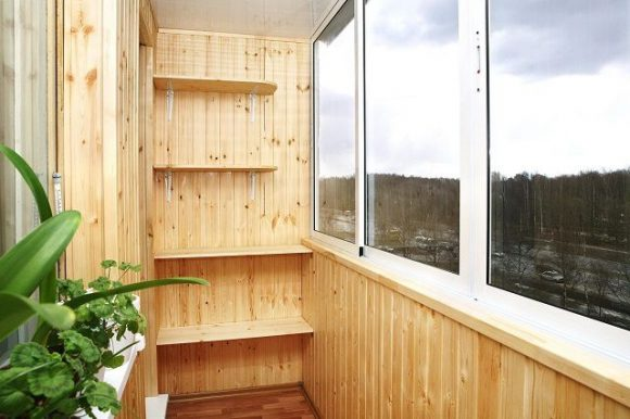 Полки для рассады на балконе